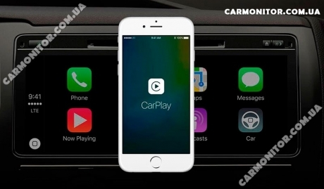 CarPlay. Mignova CarPad 7617 Android
