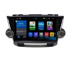 Штатная магнитола Toyota Highlander Sound Box Star Trek ST-4411 Android