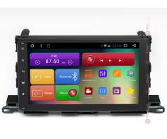 Штатная магнитола Toyota Highlander RedPower 31184 IPS Android