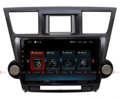 Штатная магнитола Toyota Highlander II U40 2007-2013 RedPower 30035 IPS Android